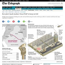 Revealed: Saudi Arabia's 'Great Wall' to keep out Isil