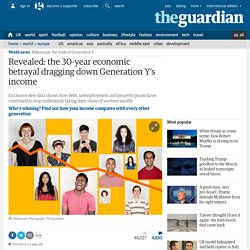 Revealed: the 30-year economic betrayal dragging down Generation Y's income