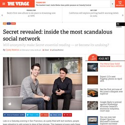 Secret revealed: inside the most scandalous social network