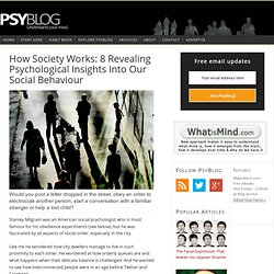 How Society Works: 8 Revealing Psychological Insights Into Our Social Behaviour