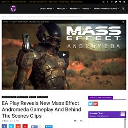 EA Play Reveals New Mass Effect Andromeda