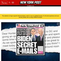 Email reveals how Hunter Biden introduced Ukrainian biz man to dad