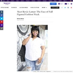 Meet Revée Lamar: The Face of Full Figured Fashion Week