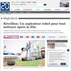 Réveillon: Un aspirateur robot pour tout nettoyer après la fête