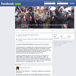 réveillon du nouvel an avec les grévistes d'oms-paris ... - Facebook
