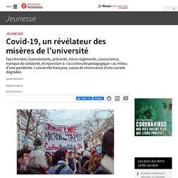Covid-19, un révélateur des misères de l'université