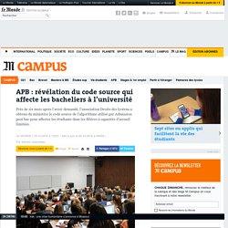 APB: révélation du code source qui affecte les bacheliers à l'université