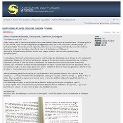 Consulter le sujet - Albert Slosman:Atlantide, Cataclysme, Denderah, Pythagore