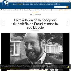 La révélation de la pédophilie du petit fils de Freud relance le cas Maddie