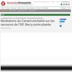 Révélations du Canard enchaîné sur les secourus de l'ISF, Bercy porte plainte