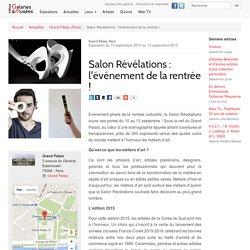 Salon Révélations : l'événement de la rentrée ! - Grand Palais (Paris)