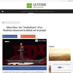 Mars One : les ''révélations'' d'un finaliste relancent le débat sur le projet