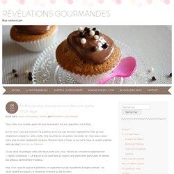 Muffins banane, chocolat et coco dans une recette 100% Végan