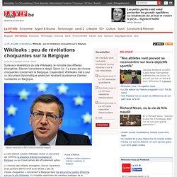 Wikileaks : peu de révélations choquantes sur la Belgique - International