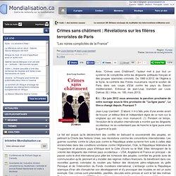 Crimes sans châtiment : Révélations sur les filières terroristes de Paris