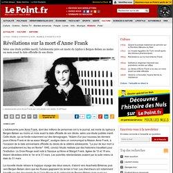 Révélations sur la mort d'Anne Frank