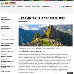 Les 11 révélations de la Prophétie des Andes