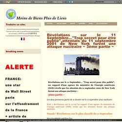 """Révélations sur le 11 Septembre…""""Trop secret pour être publié"""",attentats du 11 septembre 2001 de New York furent une attaque nucléaire ~ 3ème partie ~"""