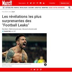 """Les révélations les plus surprenantes des """"Football Leaks"""""""