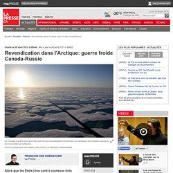 Revendication dans l'Arctique: guerre froide Canada-Russie
