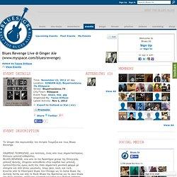 Revenge Live @ Ginger Ale (www.myspace.com/bluesrevenge) - Blues.Gr