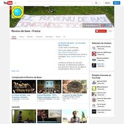 Compte Youtube Revenu de base - France