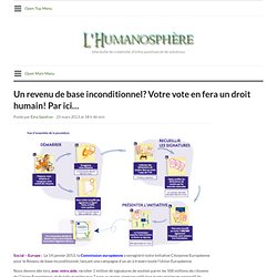 Un revenu de base inconditionnel? Votre vote en fera un droit humain! Par ici…
