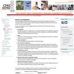 Revenu d'intégration — CPAS - OCMW Molenbeek