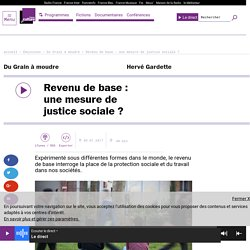 Revenu de base : une mesure de justice sociale ?