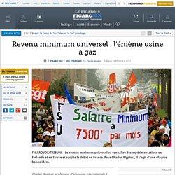 Revenu minimum universel : l'énième usine à gaz