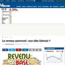 Le revenu universel : une idée libérale ?