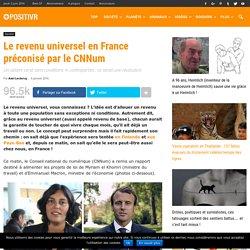 Le revenu universel en France préconisé par le CNNum