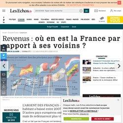 Revenus: où en est la France par rapport à ses voisins?, Conjoncture