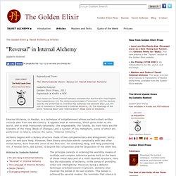 """Reversal"" in Internal Alchemy (Isabelle Robinet)"