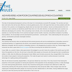 Aid in reverse: How poor countries develop rich countries | /The Rules