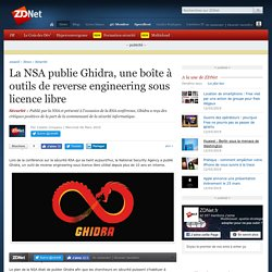 NSA Publie GHIDRA