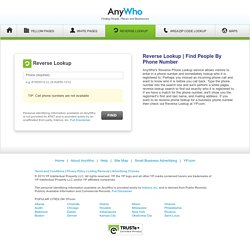Anywho reverse lookup yellow pages 60174