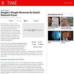 Google+ Reverses Social-Network Curse, Challenges Facebook