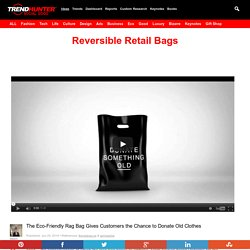 Reversible Retail Bags : rag bag