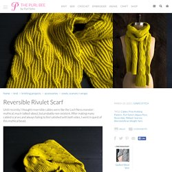 Reversible Rivulet Scarf