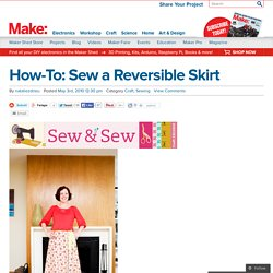 Sew a Reversible Skirt