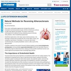 Natural Methods for Reversing Atherosclerosis