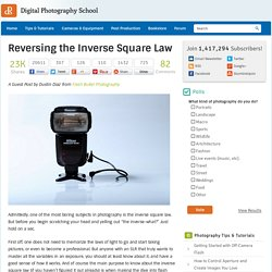 Reversing the Inverse Square Law
