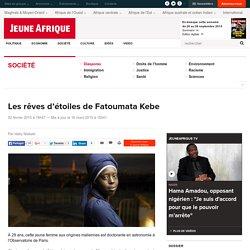 Les rêves d'étoiles de Fatoumata Kebe