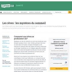 Les rêves: les mystères du sommeil - canoe.ca