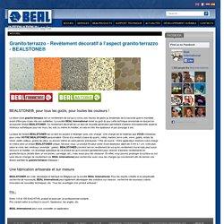 Granito/terrazzo - Revêtement décoratif à l'aspect granito/terrazzo - BEALSTONE®