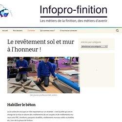 Infopro-finition - Le revêtement sol et mur à l'honneur !