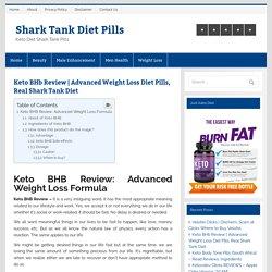 Advanced Weight Loss Diet Pills
