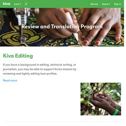Review and Translation Program