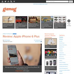 Review: Apple iPhone 6 Plus